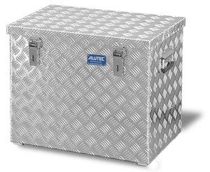 Aluminium-Transportkiste aus Riffelblech, 120 Liter