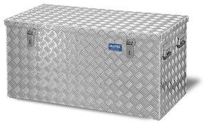 Aluminium-Transportkiste aus Riffelblech, 250 Liter