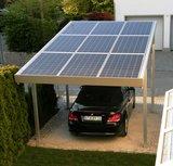 Solar carport kaufen bersicht preise im online shop for Carport mit solardach